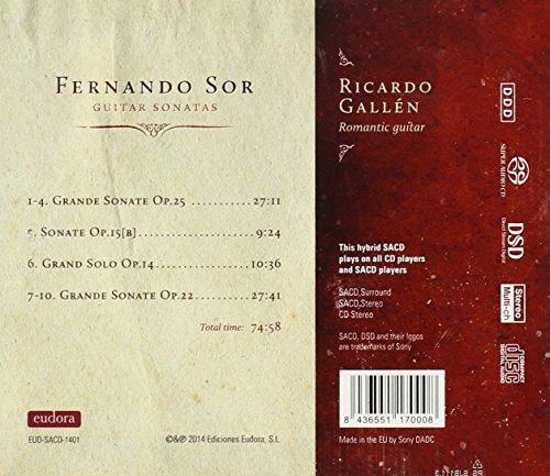 Sor: Guitar Sonatas