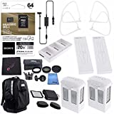 DJI Phantom 4 Extra Flight Pro Accessory Bundle: Polar Pro Drone Trekker Backpack for Phantom Series + Phantom 4 Series Intelligent Flight Battery 5870mAh + DJI Charging Hub + Sony 64GB Card & MORE!!