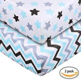 Crib Sheet UOMNY 100% Cotton Baby Coverlet Review and Comparison