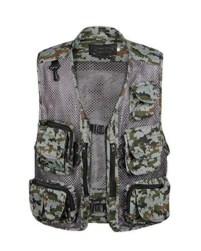 Militare Per Cavaliere Pesca Essenziale Da tasca Asciugatura Esterno Emmay Grau Stile Uomo Ad Rapida Multifunzione Giacca Multi ZvpqO