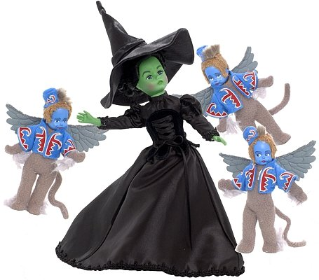 Madame Alexander Wicked Witch of the West and the Winged Monkeys Limited - Witch Winged