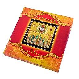 All-round Taoist Feng Shui Protective Talisman Bagua Mirror Pakua + Free Red String Bracelet G9004