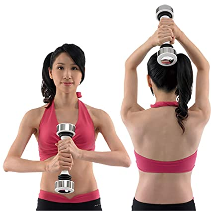 QNMM Mujeres Mancuernas Ejercicio Levantamiento de Pesas Ejercicio aeróbico tonificación Muscular, Gimnasio en casa y