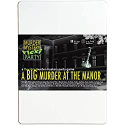 A Big Murder at the Manor 6-20 Player Murder Mystery Flexi-Party