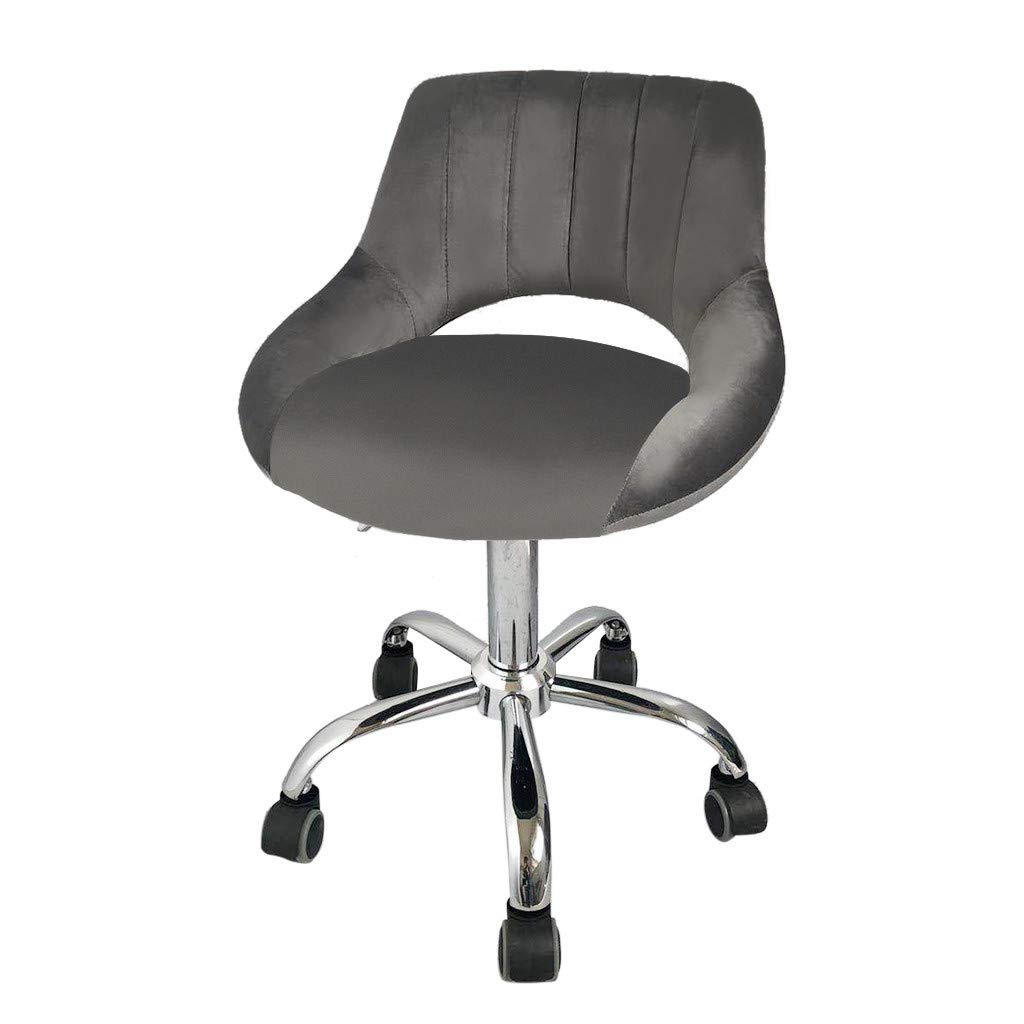 Jeeke Office Chair Leather Desk Gaming Chair with Massage Function Computer Chair Rolling Swivel Adjustable Stool Executive Chair for Workers & Students,Gray, Ship from USA (A) by Jeeke