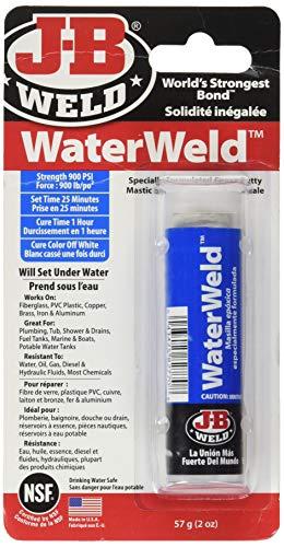 JB Weld 8277 Waterweld (Pipe Leak Pvc Sealer)