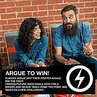 Superfight Red Deck: 100 Horribly Offensive Cards for the Game of Absurd Arguments, Hilarious Expansion Deck for Adults, 3 or More Players, Ages 18 and Up: Toys & Games