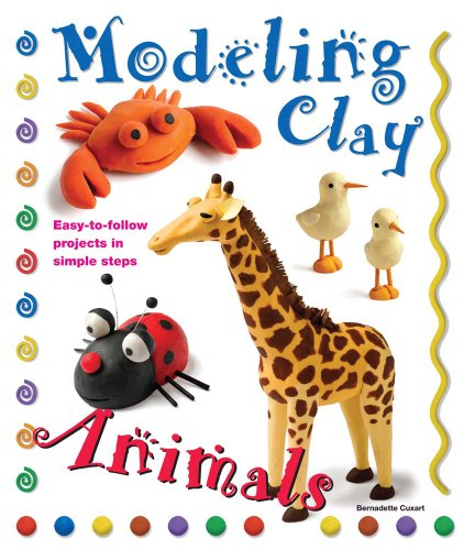 Modeling Clay Animals: Easy-to-Follow Projects in Simple Steps (Kids Clay Sculpture)