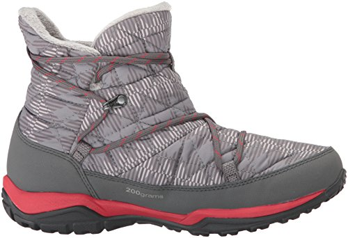 Columbia Women's Loveland Shorty Omni-Heat Print Snow Boot, Light Grey/Burnt Henna, 7.5 B US by Columbia (Image #7)