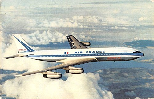 Air France Airlines Transportation Antique Postcard A1949