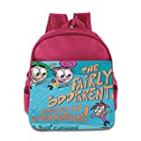 Kids The Fairly Oddparents School Backpack Cartoon Baby Boys Girls School Bags Pink