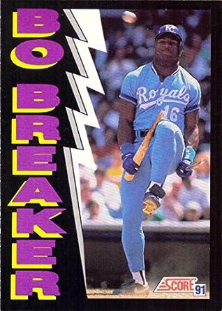 Amazoncom 1991 Score 773 Bo Jackson Bo Breaker Baseball Card