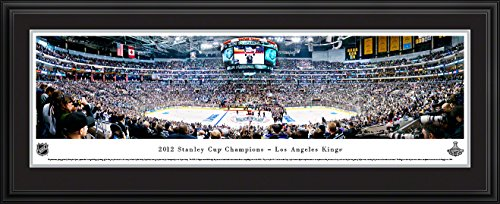 2012 Stanley Cup Champions - Los Angeles Kings - Panoramic Print