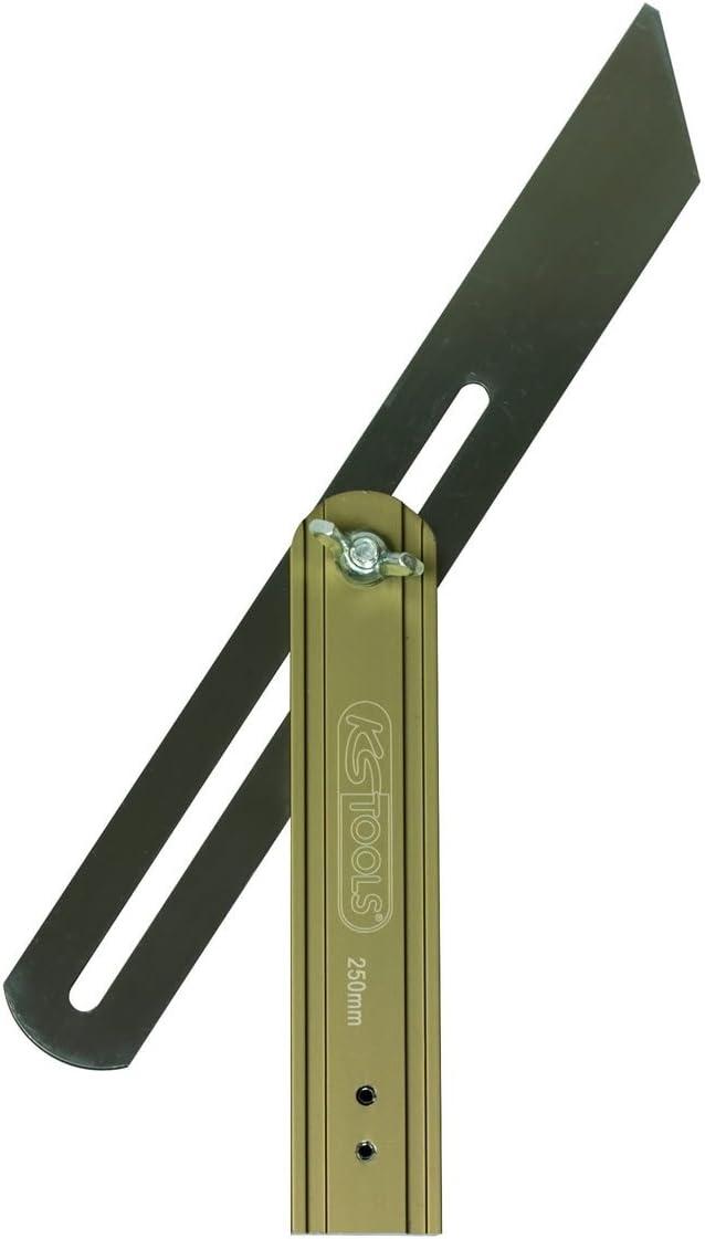 250mm KS Tools 300.0230 Verstellbarer Winkel mit Holzschenkel