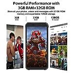 Téléphone Incassable, Blackview® BV5500 Plus Android 10 Smartphone Débloqué 4G avec Écran 5.5 Pouces, 3Go+32Go (SD 128Go… 8