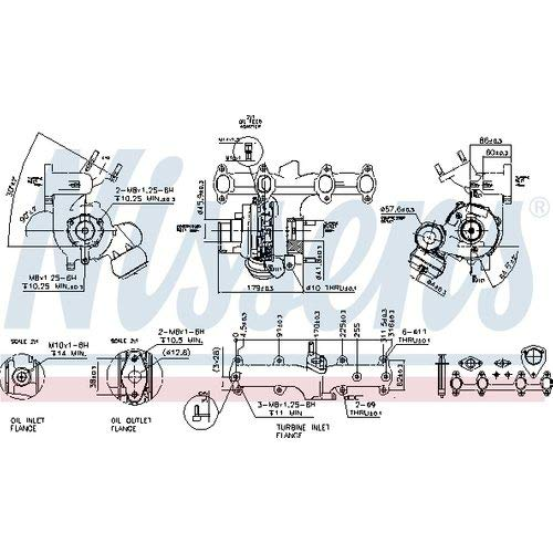 Nissens 93091 Turbo Charger: