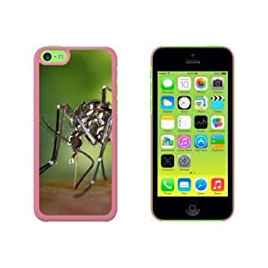 Asian Tiger Mosquito Bug Snap On Hard Protective For Iphone 6 Plus Phone Case Cover - Pink