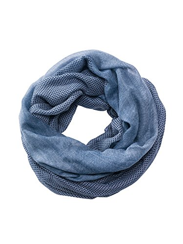 James & Nicholson Printed Loop Scarf, Sciarpa Unisex-Adulto Multicolore Navy/White Taglia Unica MB6402 nywh