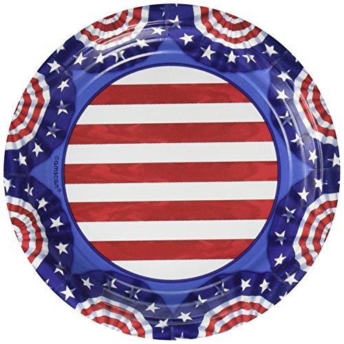 - American Pride Party Plates, 7