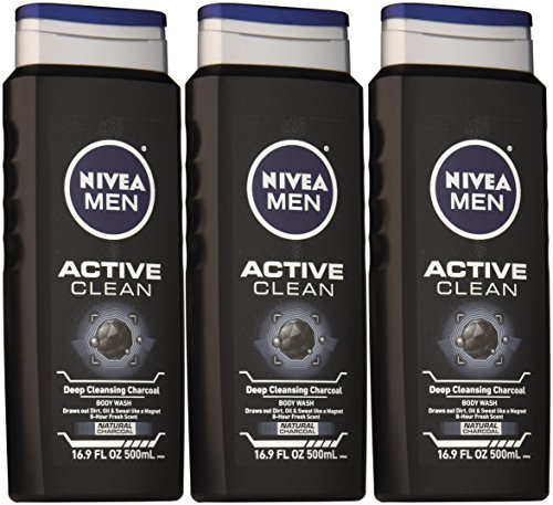 Nivea For Men Body Wash 169 Ounce Pack Of 3