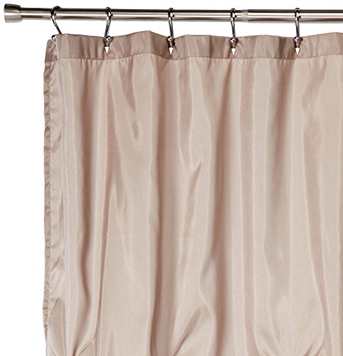 Laurel Shower Curtain Taupe 72 X 84 60OFF