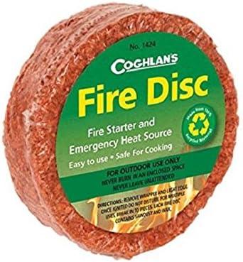 Coghlan/'s Imperméable Feu Sticks 12-COMTE Amadou Camping fire starters 10-pack
