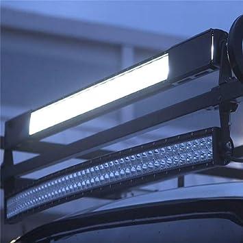 "8/""Inch Snap on Black Curved LED Light Bar Lens Cover ATV UTV Offroad 4WD 50/"" 52/"""