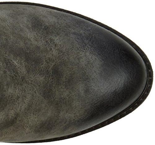 Rieker 96054, Botines para Mujer Gris (Smoke/black)