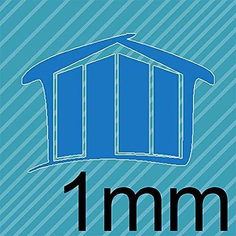 70x110 cm Homedeco-24 Acrylglas 1 mm klar Platte Zuschnitt in verschiedenen Gr/ö/ßen Hier