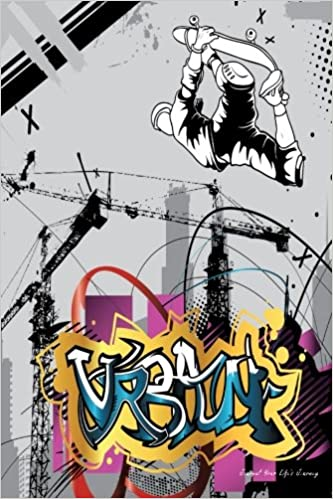 Amazon com: Journal Your Life's Journey: Urban Skater, Lined Journal