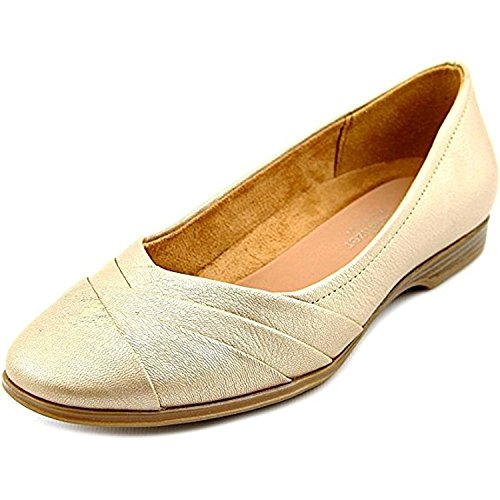 Chaussures Plates Jaye Naturalizer Womens, Or 9,5 Ww Us Gold
