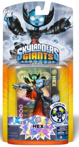 Skylanders Giants Lightcore Hex Character