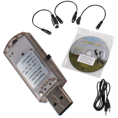 DN USB Flight Simulator Cable Software DVD