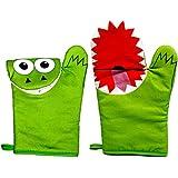 Mitten Monsters Cooking Mittens - 1 Pair - Green