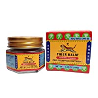 Tiger Balm - Red Extra Strength - Pain Relieving Ointment - Jar 20ml (18 G.)