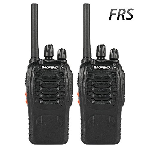 Baofeng BF-88A FRS Two Way Radio (Upgrade Version of BF-888S) 16 Channels Handheld Rechargeable License Free Walkie Talkies with USB Charger + Earpiece, 2pcs by BaoFeng (Image #7)