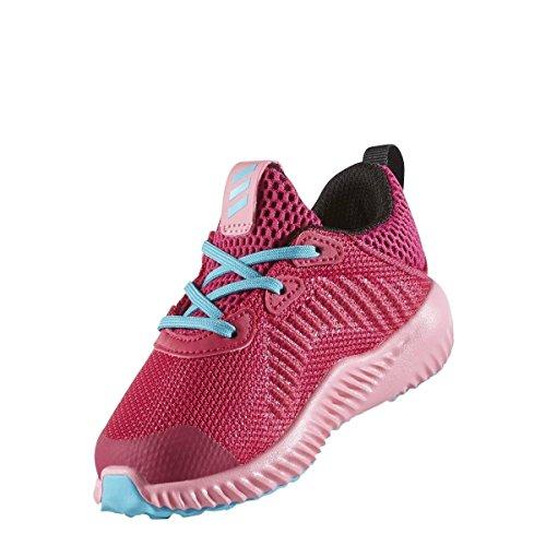 adidas alphabounce I–Zapatos de Running de niños–bopink/easpnk/eneblu