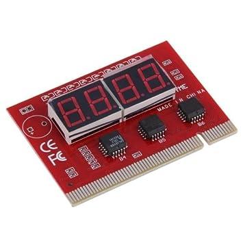 alicenter (TM) para placa base de ordenador portátil Mini PCI PCI-E LPC POST solución de problemas de diagnóstico cardhpg: Amazon.es: Electrónica
