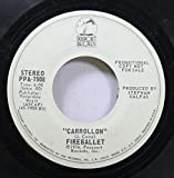 Fireballet 45 RPM Carrollon / Desiree