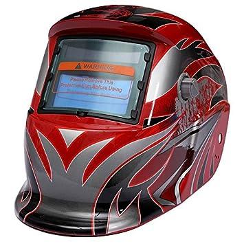 AUDEW Solar Máscara ajustable para soldar oscurecimiento Arc) LCD ...