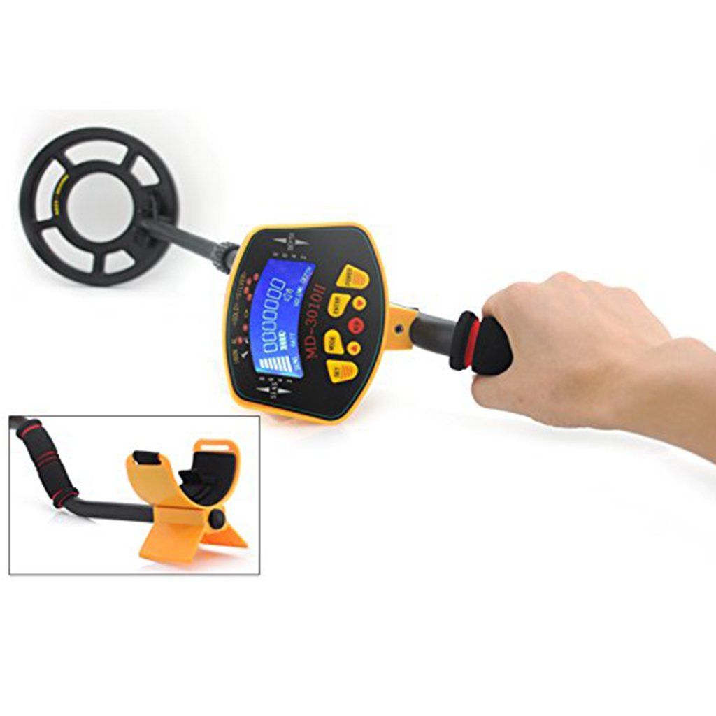 Amazon.com : MagiDeal MD3010II Metal Detector Treasure Search Digger LCD Waterpoof Coil Gold Outdoor : Garden & Outdoor