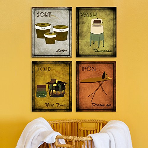 Laundry Room Decor 15 Clever Art Product Ideas To Liven Up Your Walls 2021