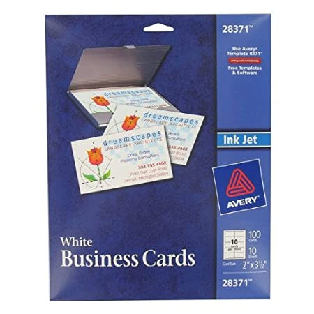 Amazon avery ink jet printer business cards business card amazon avery ink jet printer business cards business card stock office products cheaphphosting Images