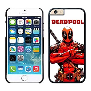New Unique Designed Cover Case For iphone 6 Plus 5.5 Inch With Deadpool 1 iphone 6 plus Black 5.5 TPU inch Phone Case 104