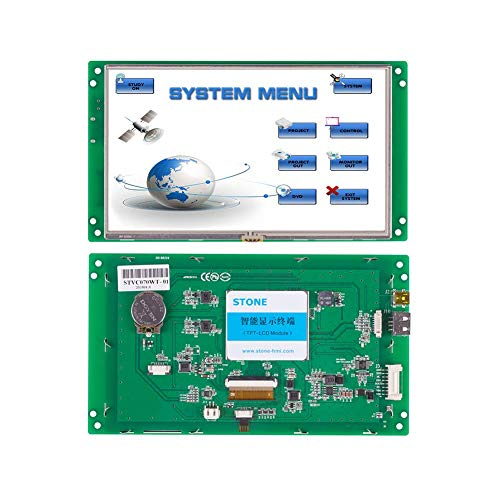 - 7 Inch HMI TFT LCD Display Programmable Logic LCD Controller Touch Screen for Equipment Use Customize Available
