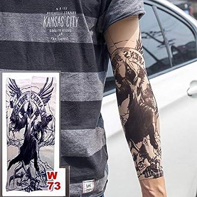 4 Piezas Falso Tatuaje Temporal Mangas Tatuajes Completo Largo ...
