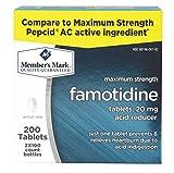Member's Mark Famotidine - 2/100ct Compare to Pepcid AC Maximum Strength