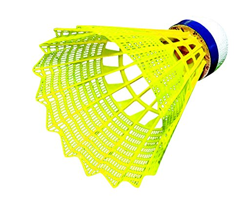 Sportime Badminton Shuttlecocks Tournament Yeller Pack of 6