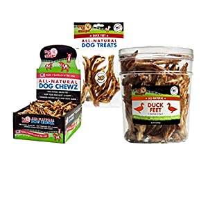 Pet 'n Shape - Made in USA - All Natural Duck Feet Dog Treats 5