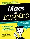 Macs para Dummies, Edward C. Baig, 0470048492